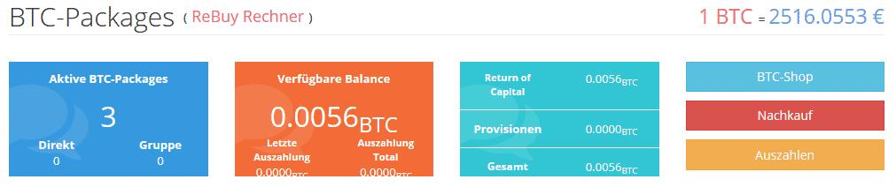 bitcoin mining übersicht woche 2