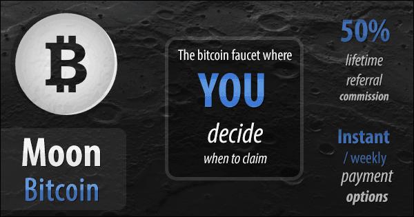 Moon Bitcoin Generator Free Faucet mit Tagesbonus