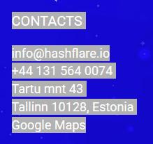Kontaktadresse Bitcoin Cloud Mining Anbieter Hashflare