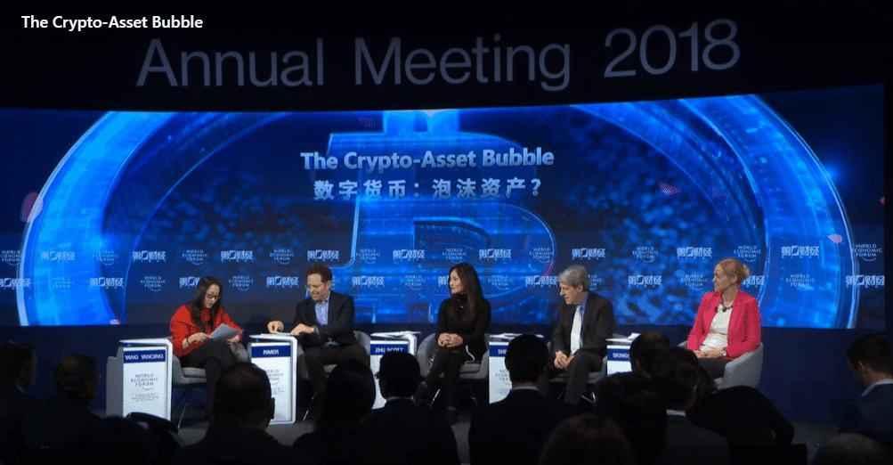Blockchain und Krypto - Blockchain und Krypto auf dem Weltwirtschaftsforum in Davos