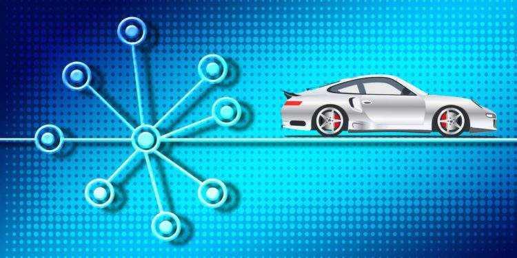 Porsche und Xain testet Blockchain im Auto