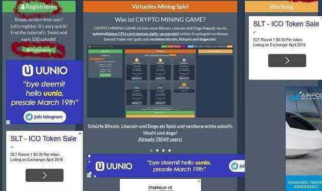 Crypto Mining Game Beitragsbild