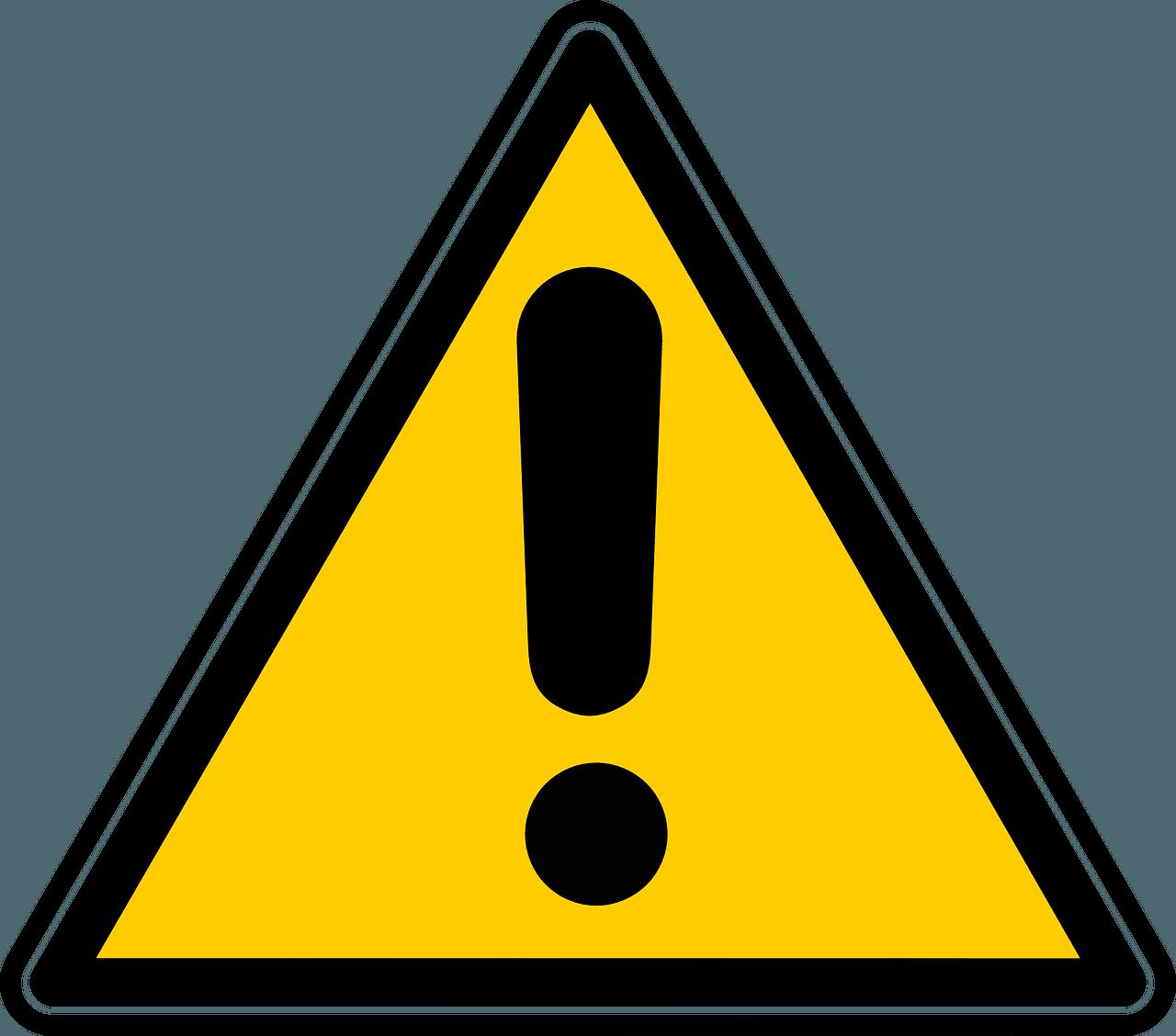 achtung-warnung